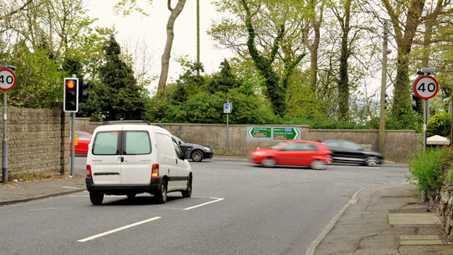 Traffic lights, Greenisland (2)