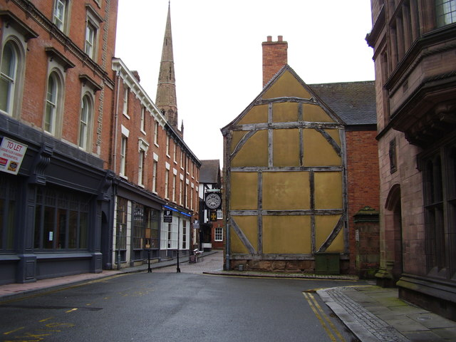 The old and the new,  Hay lane