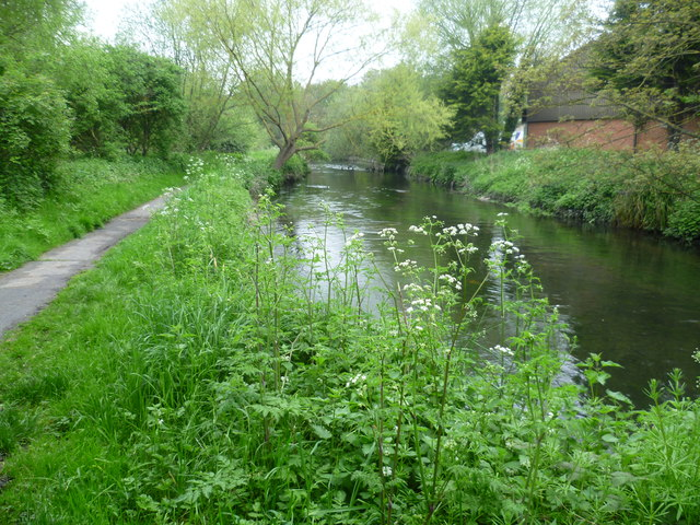 River Wandle near Poulter Park
