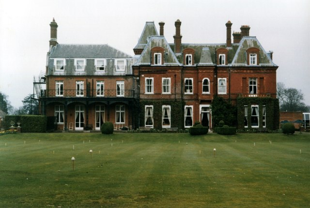 Western side of the original house at Champneys