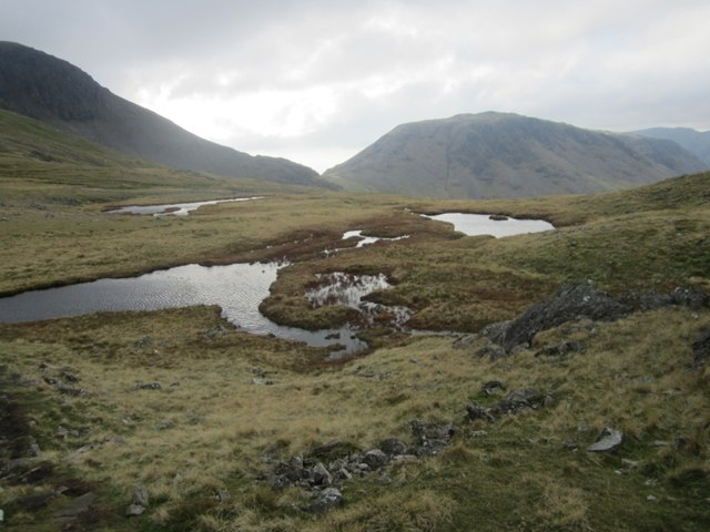 Tarns on Gillercombe Head