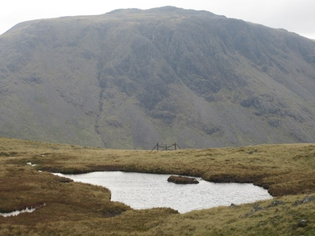 Unnamed tarn at Gillercombe Head