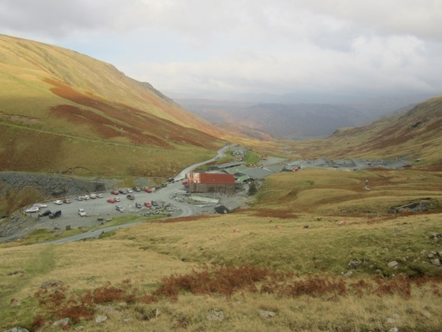Honister Slate Mine Buildings