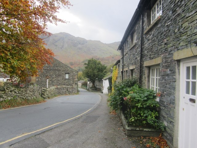 Road through Seatoller