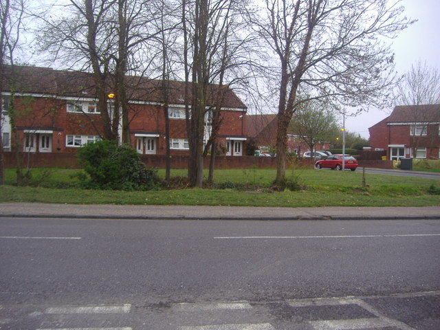 Houses along High Road, North Weald Bassett