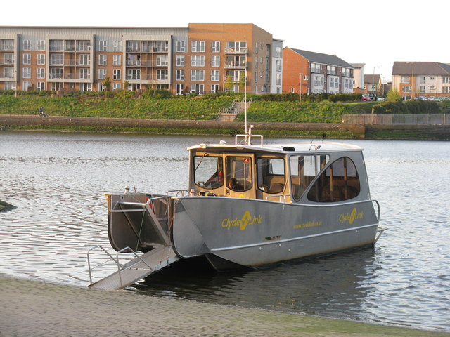 Clyde Link Ferry at Renfrew