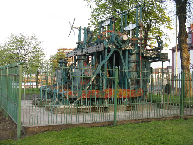 Engines of the tug 'Clyde' at Renfrew
