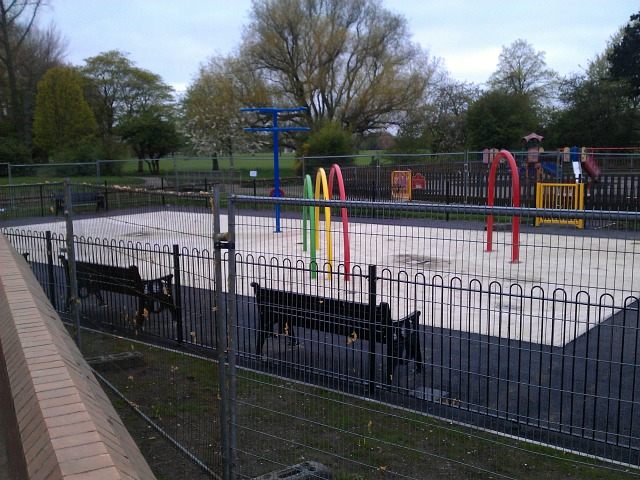New water-play area