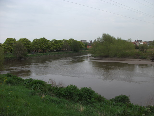 River Dee beside The Cop