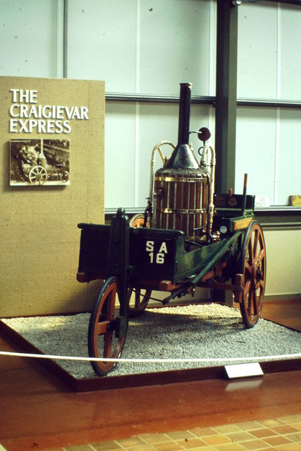 The Craigievar Express