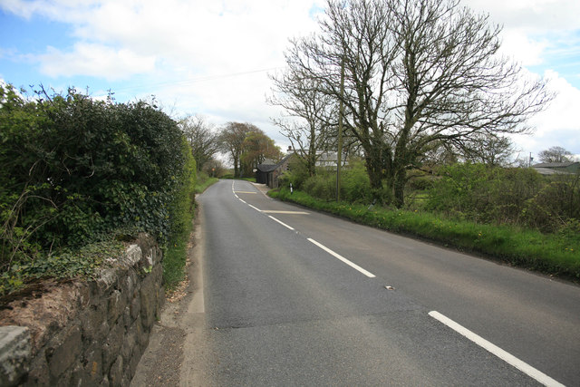 The A3079 nr Lane End