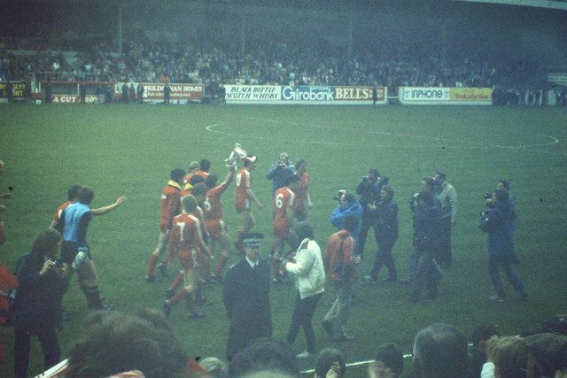 Aberdeen FC, Champions of Scotland