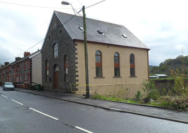 Former chapel, Caerphilly Road, Senghenydd