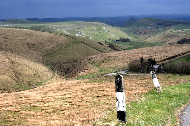 Cisterns Clough and the Dove Valley