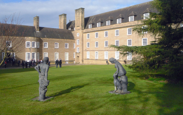 St Mary's College Lawn