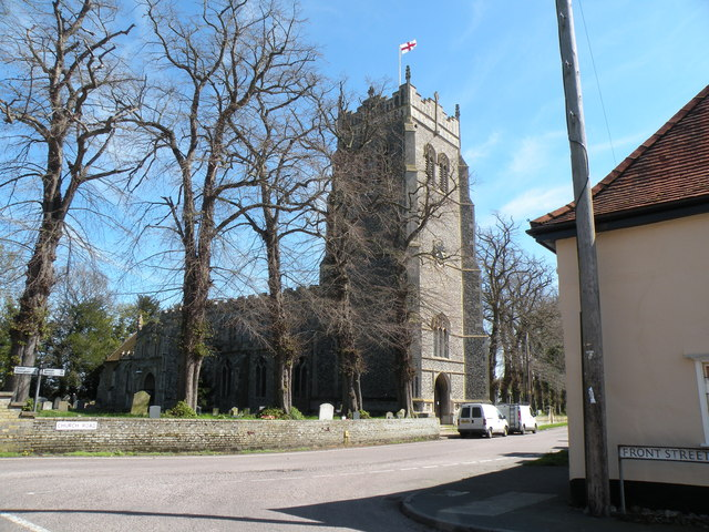 St. Mary's: the parish church of Mendlesham