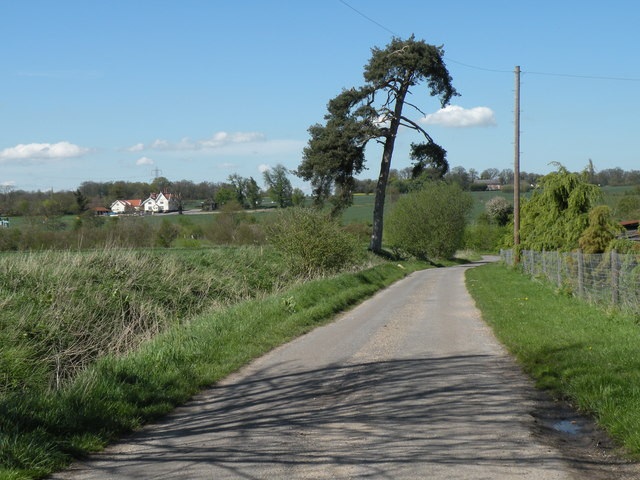 Church Lane at Stoke Ash