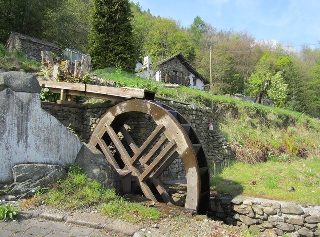Waterwheel at Duddon Bank