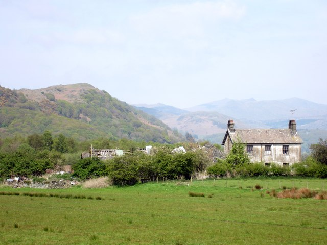 Derelict Farm Buildings at Holme