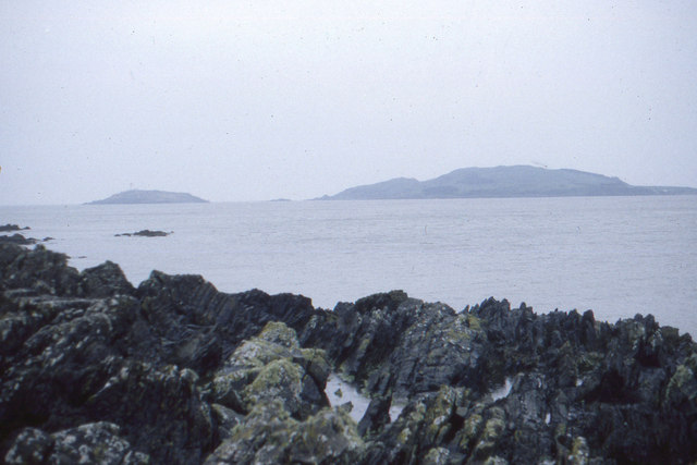 Kirkcudbright Bay and the island of Little Ross