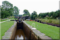 SJ8156 : Church Lawton Locks No 48, Cheshire by Roger  Kidd