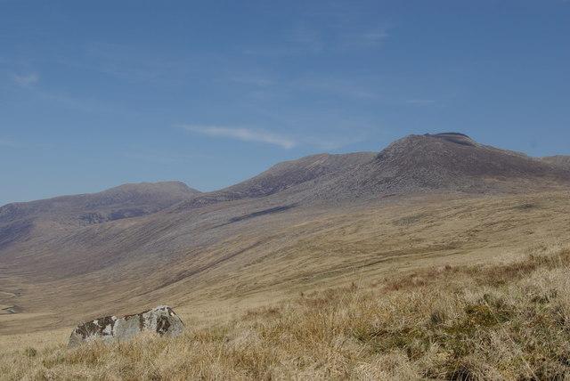 Moorland east of Beinn Chaorach