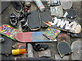 TQ3080 : Abandoned Skate Boards by Christine Westerback
