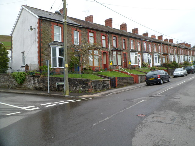 Church Road houses, Abertridwr