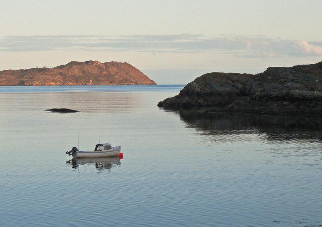 Fishing boat in Loch Shieldaig