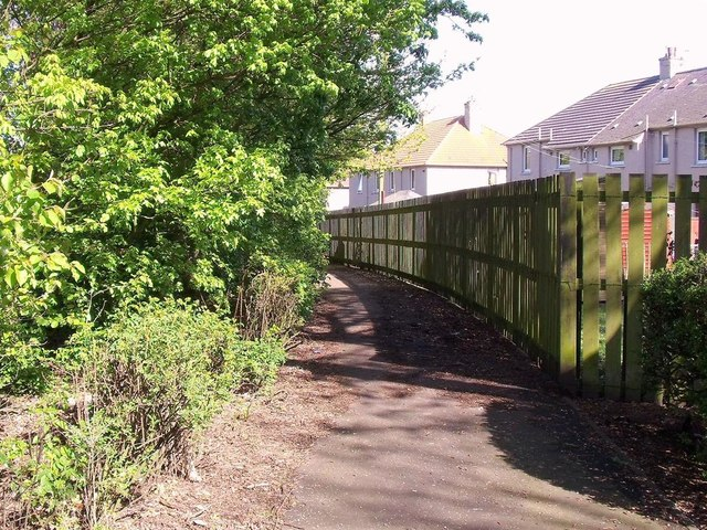 Former colliery line footpath