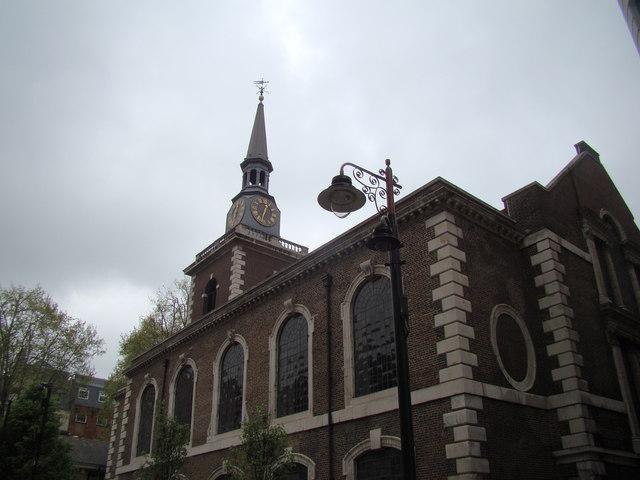 View Of St James Church From Jermyn Street