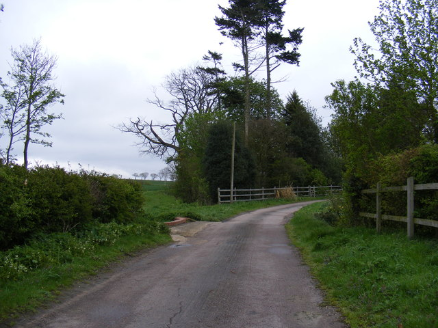 The entrance to Hillhouse Farm