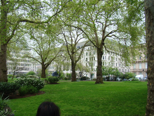 View across St James' Square