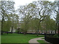 TQ2880 : View across Grosvenor Square #2 by Robert Lamb