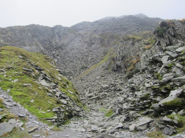 Dormant slate Quarry