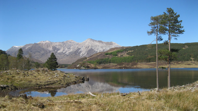 Loch Coulin and Beinn Eighe