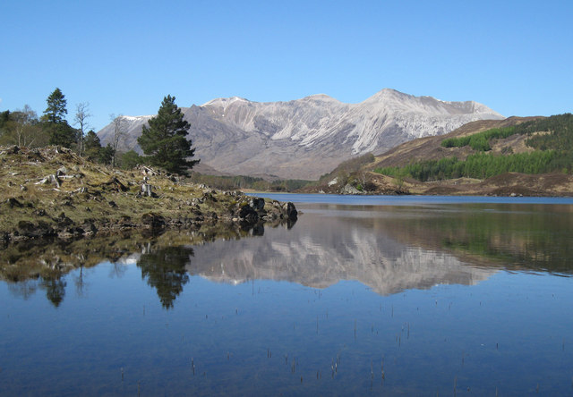 Reflections in Loch Coulin