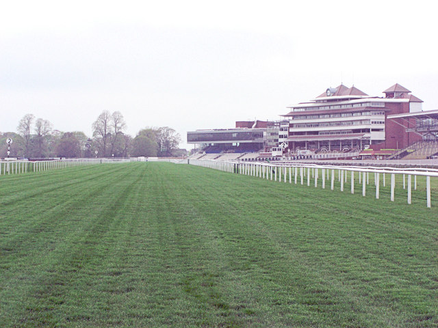 Newbury Racecourse the final 2 furlongs