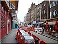 TQ2881 : View up James Street : Week 18