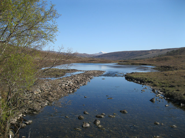 A' Ghairbhe river