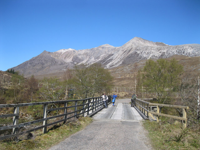 Bridge over A' Ghairbhe river