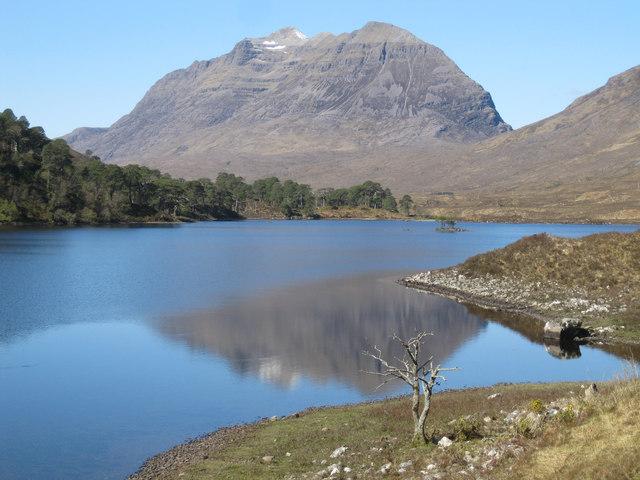 Loch Clair and Liathach
