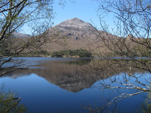 Loch Clair and Sgurr Dubh