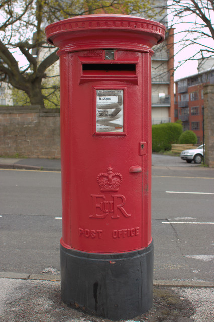 Elizabeth II Postbox, The Ropewalk