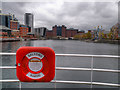 SJ8097 : Salford Quays, Erie Basin by David Dixon