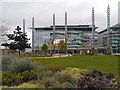SJ8097 : MediaCityUK, The Park by David Dixon