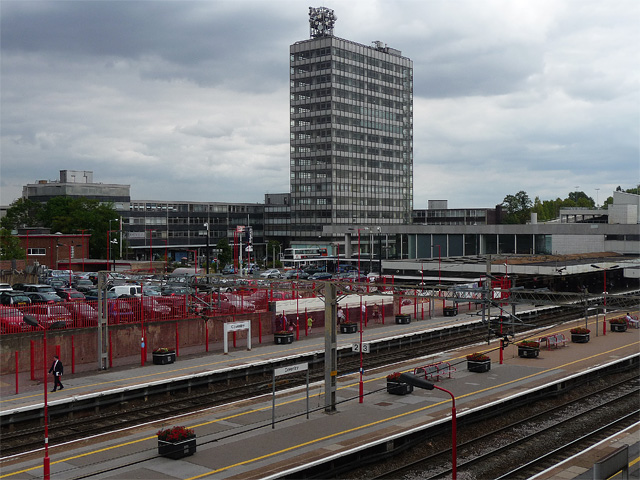 Station and Station Tower, Station Square, Coventry