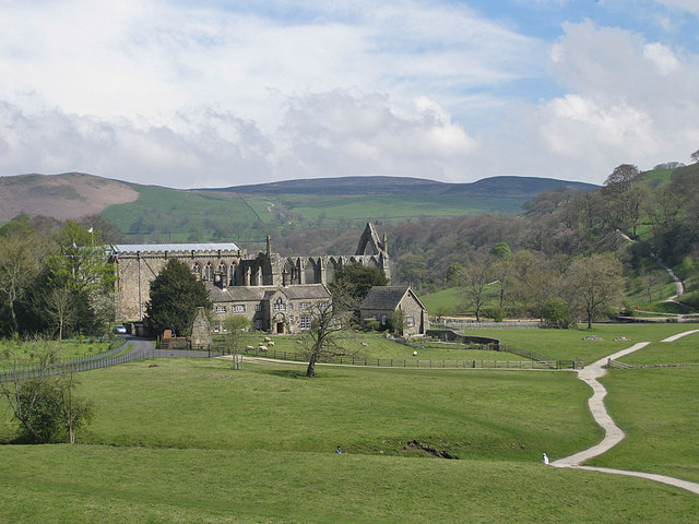 Remains of Bolton Priory