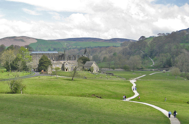 Path through Bolton Abbey Estate