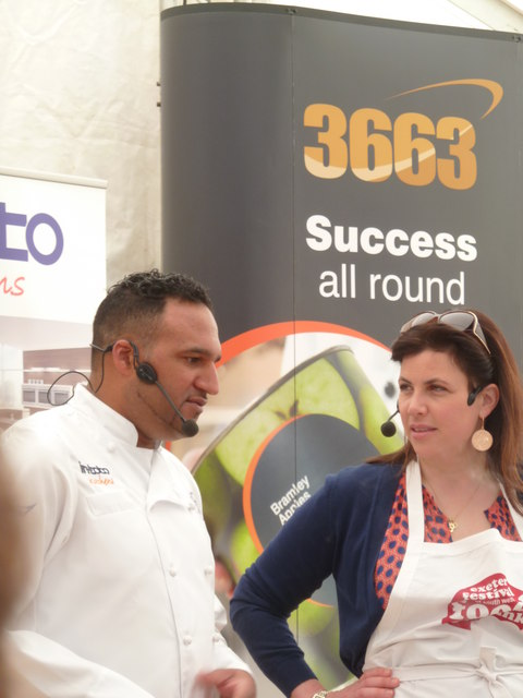 Exeter Festival of south-West Food & Drink - Location, Location, Location!